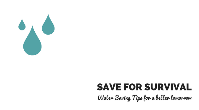 Water Saving Tips for a better tomorrow